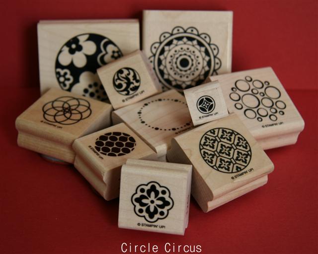 Circle Circus Stamp Set