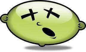 Green head unwell